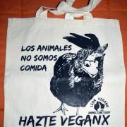 Bolsa los animales no somos comida
