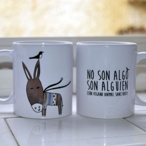 Taza Vegana Leon Vegano Animal Sanctuary